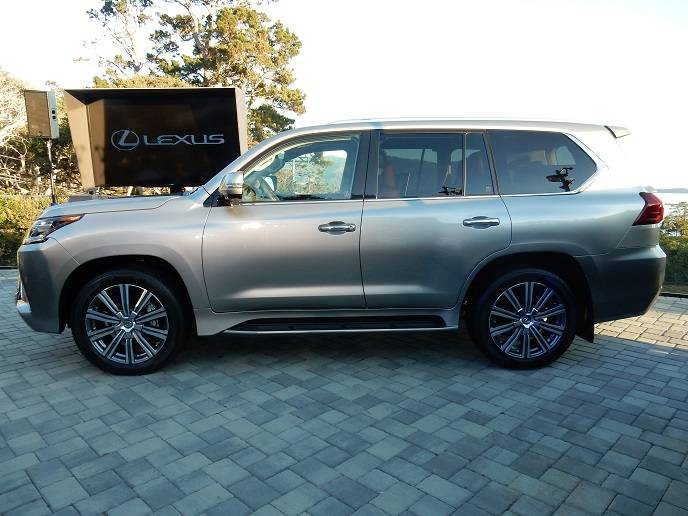The Haute Pebble Beach Unveiling Of The 2016 Lexus Lx 570 And Gs 200t