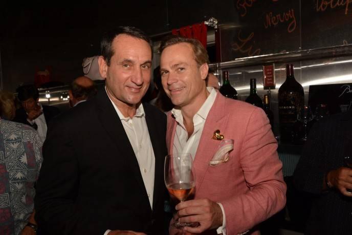 Mike Krzyzewski and Jean-Charles Boisset