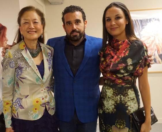 Olivia Hsu Decker, Seth Semilof and Bahya Oumlil-Murad