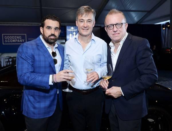 Seth Semilof, David Gooding and Richard Geoffroy