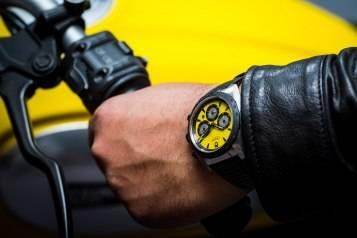 Tudor-Fastrider-Chronograph-2015-Yellow-Wrist