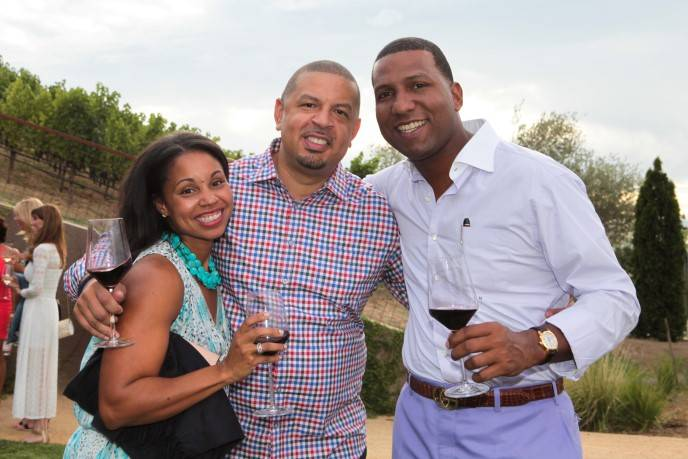 Jeff Capel, Kanika Blue Capel and  Fred Perpall