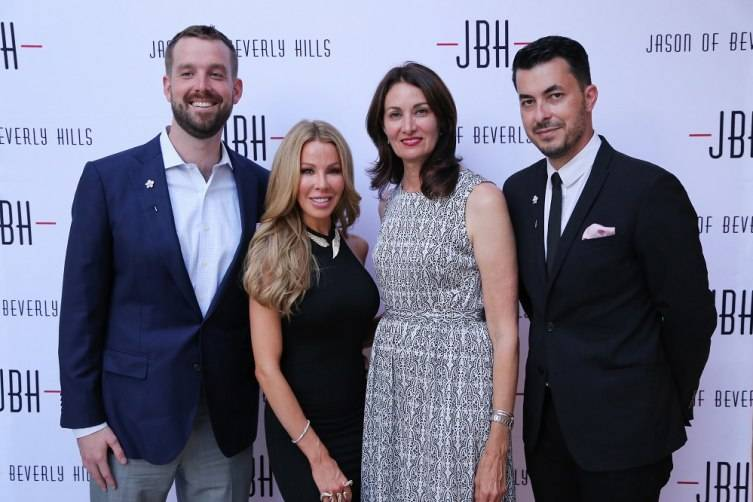 Will Gearin, Lisa Hochstein, Leslie Schreiber of RESOLVE Org, & jeweler Jason Arasheben