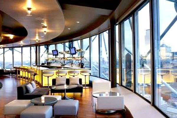 Five Sixty is Wolfgang Puck's Dallas restaurant.  Enjoy the beautiful view of Dallas.