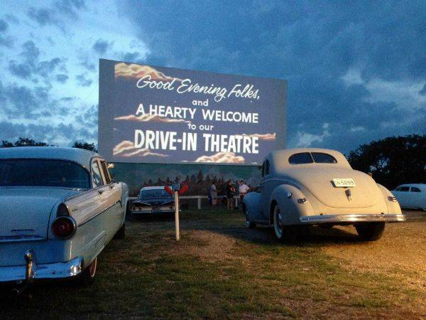 You can still see a drive-in movie in Ennis  - or make out in the back seat. Whichever you prefer.