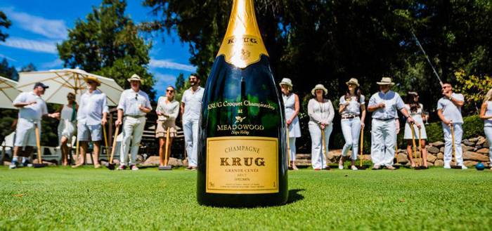 SF: Krug Flows Freely at 2nd Annual Croquet Cup in Meadowood