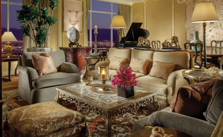 penthouse suite venetian