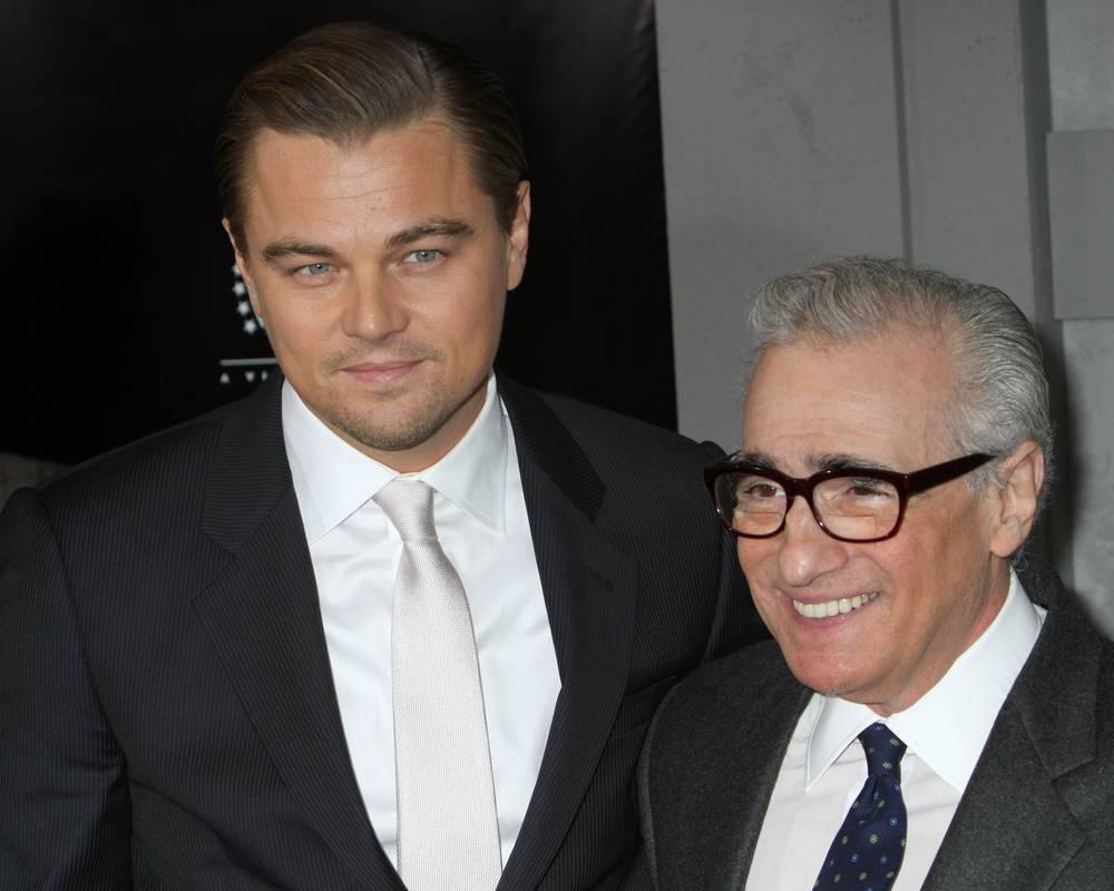 "Leonardo DiCaprio and Martin Scorsese attend the premiere of ""Shutter Island"" at the Ziegfeld Theater on February 17, 2010 in New York City."