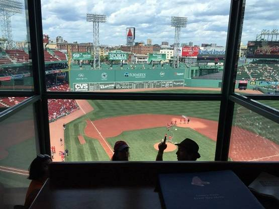 Press Box Fenway