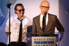 Joaquin Phoenix and Moby