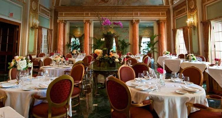 The French Room is one of the most romantic restaurants in Dallas.