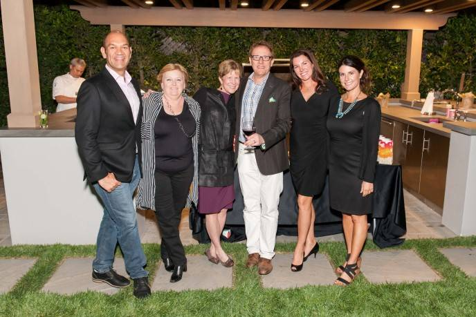 NVFF Board Members in attendance: Patrick Davila, Carrie Markham, Brenda and Marc Lhormer, Michelle Baggett and Carissa Ashman