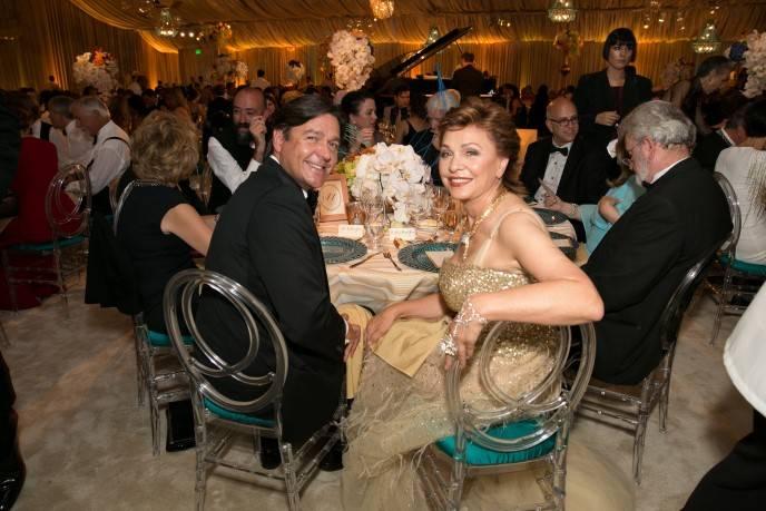Nathan Gunn and Maria Manetti Shrem
