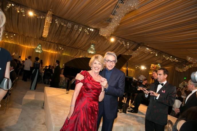 Dagmar Dolby and Michael Tilson Thomas