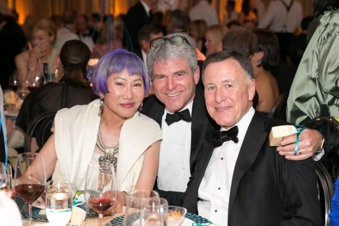 Amy Tan, Joshua Robison and Carl Pascarella