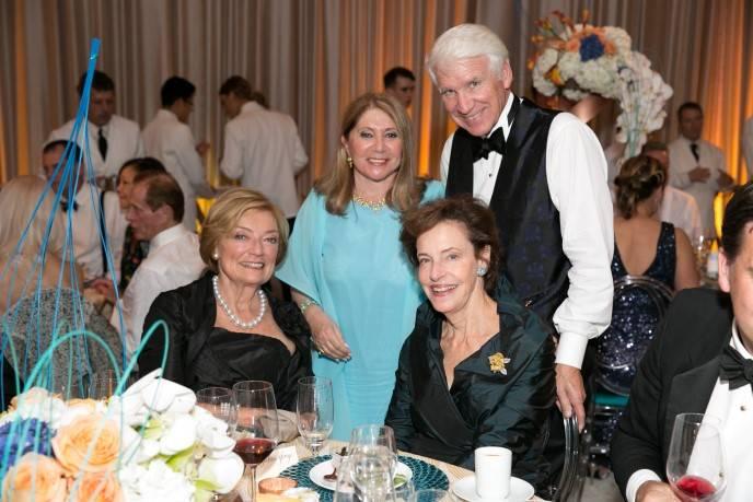Gretchen de Baubigny, Athena Blackburn, Timothy Blackburn and Barbara George