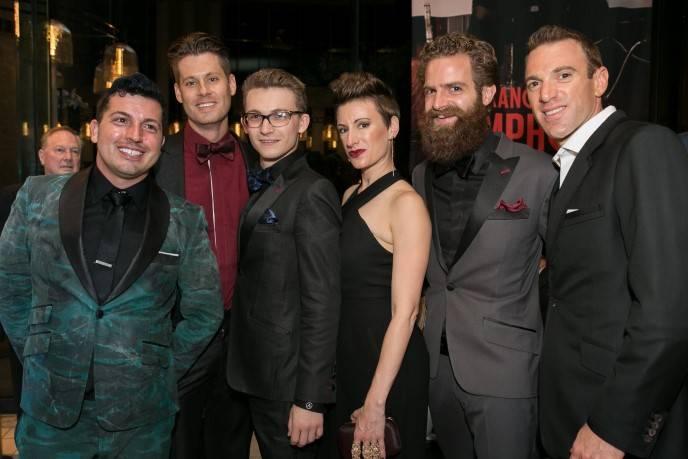 Jake Wall, Nate Johnson; Blake Patterson; Robyn Cain; Jonathan Cain; Adam Shane