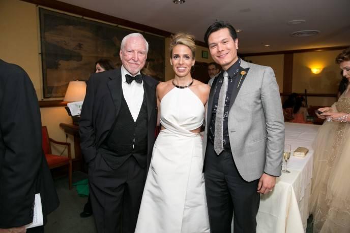 Ambassador James Hormel; Natasha Dolby; Michael Nguyen
