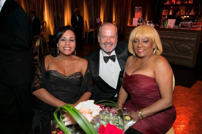 Clothilde Hewlett, Kelsey Grammer and Brenda Wright