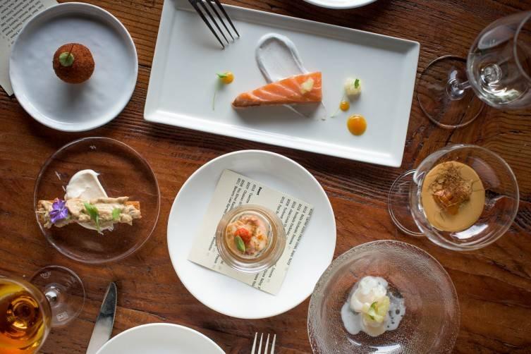 1601 Bar & Kitchen Desgustation Offerings