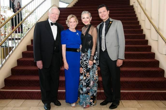 Ambassador James Hormel; Nancy Bechtle; Sako Fisher; Michael Nguyen