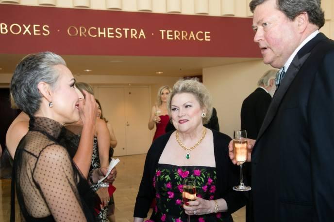 Sako Fisher, Cynthia and John Gunn