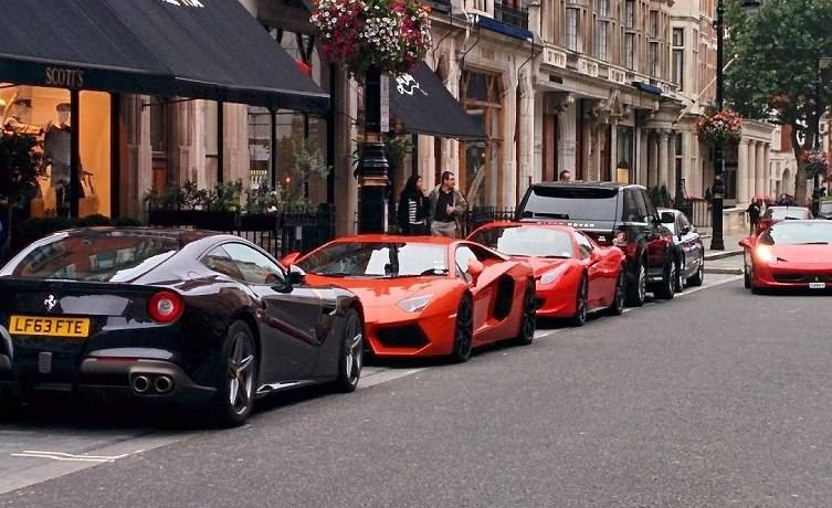 London The World S Summer Stage For Supercars