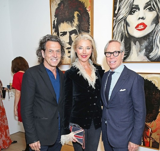 Stephen Webster Tamara Beckwith Tommy Hilfiger