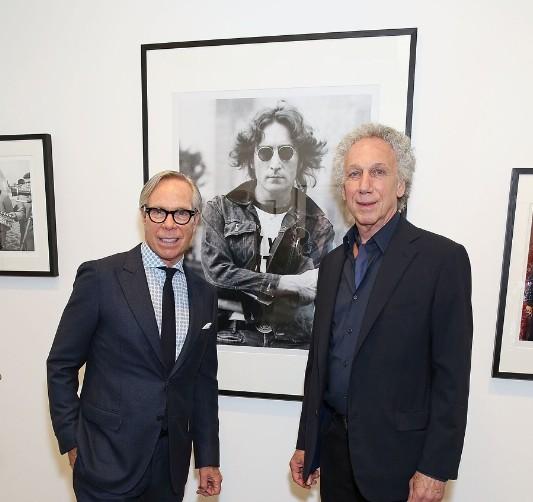 Tommy Hilfiger and Bob Gruen
