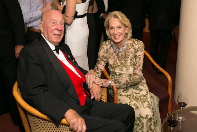George Shultz; Charlotte Shultz