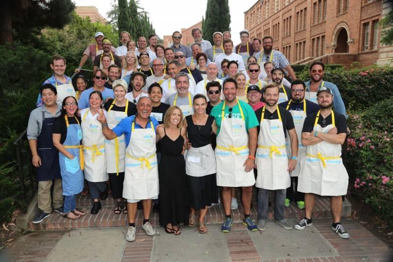 Chefs of L.A. Loves Alex's Lemonade