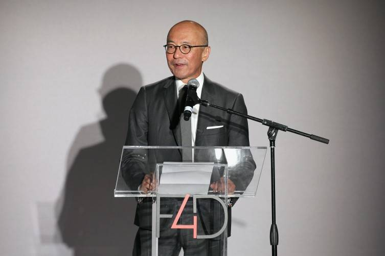 NEW YORK, NY - SEPTEMBER 28: The Costume Institute head curator Harold Koda speaks onstage during the Fashion 4 Development's 5th annual Official First Ladies luncheon at The Pierre Hotel on September 28, 2015 in New York City. (Photo by Neilson Barnard/Getty Images for Fashion 4 Development)