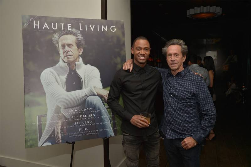 Terrence J and Brian Grazer