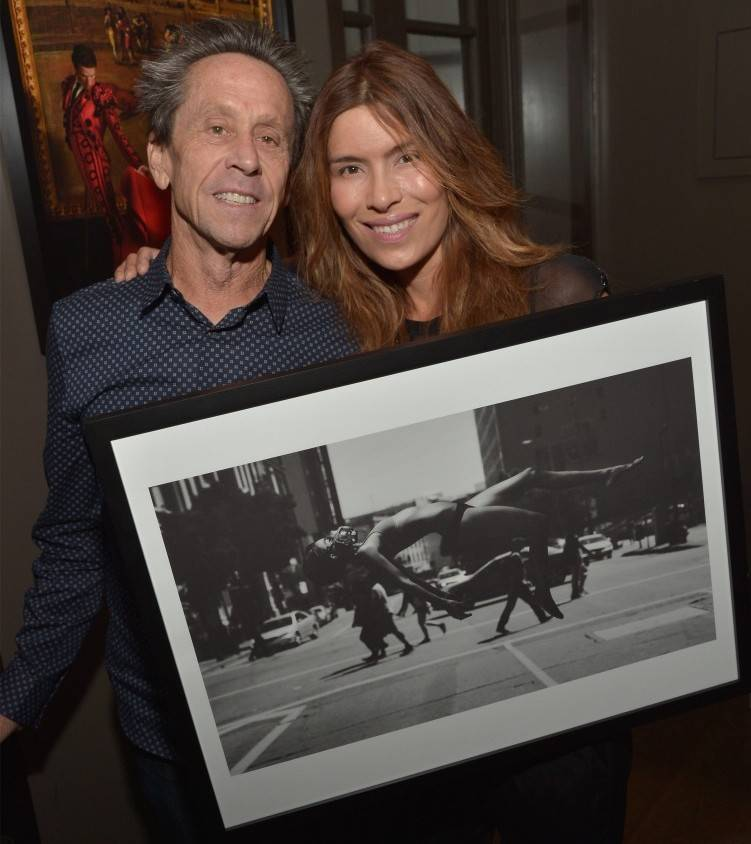 Brian Grazer and fiancee Veronica Smiley