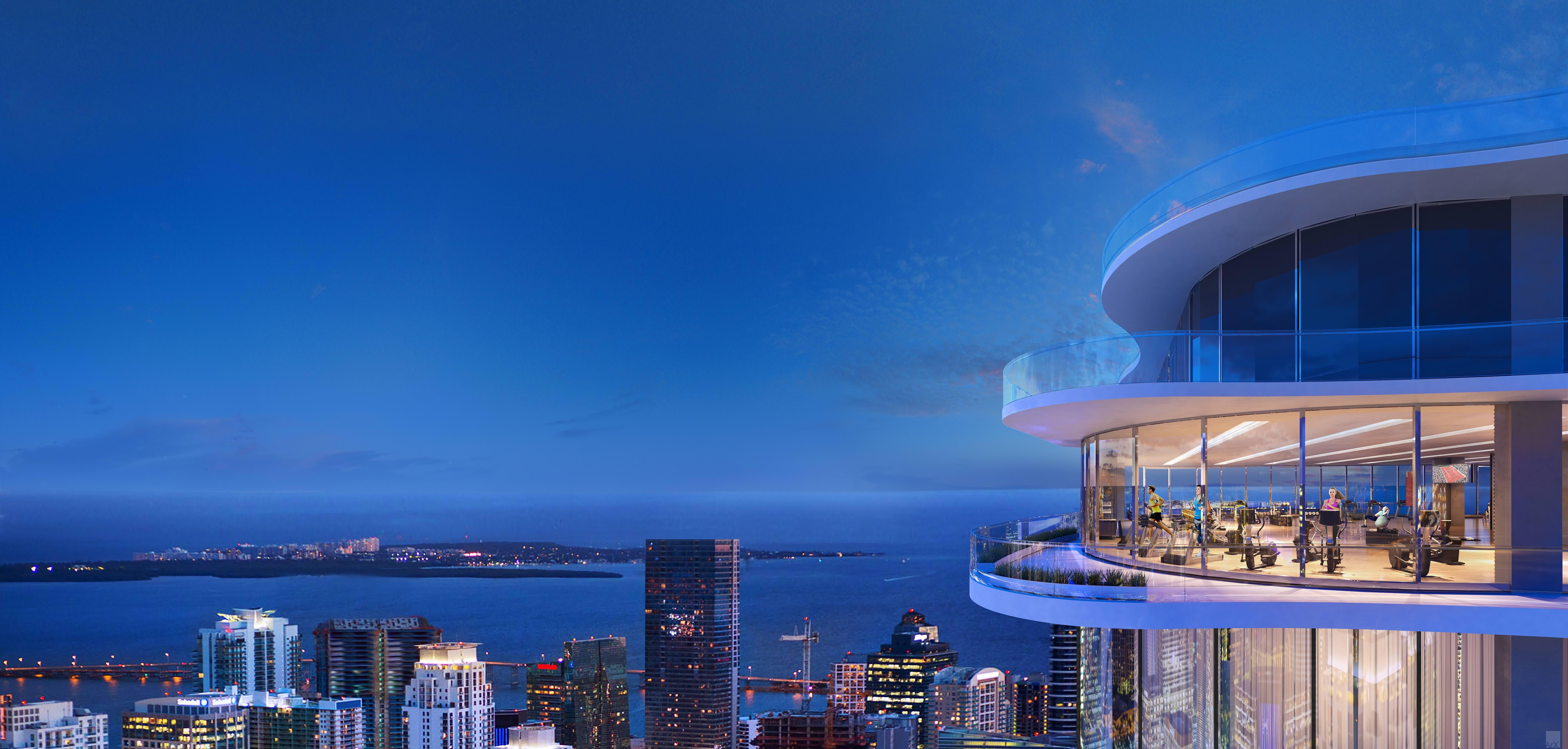 Brickell Flatiron Tallest Residential Tower in Miami