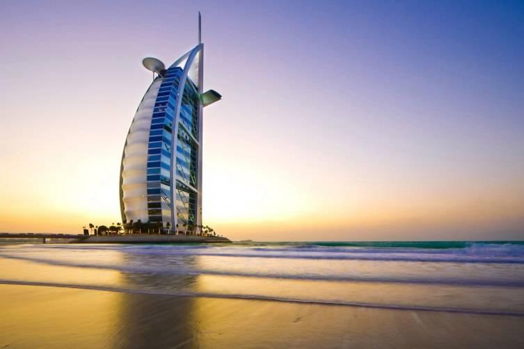 Burj-Al-Arab-Sunset