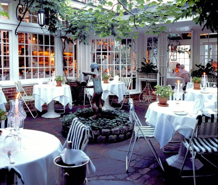 The Terrace at The Charlotte Inn