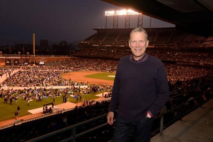 David Gockley at Opera at the Ballpark