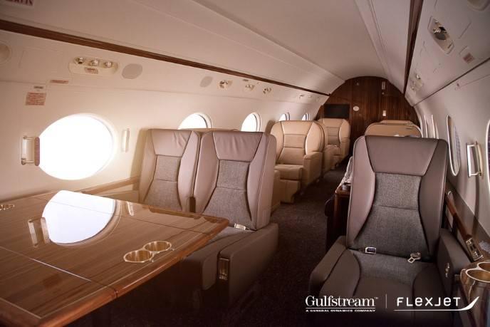 Flexjet_Gulfstream_G450_Interior