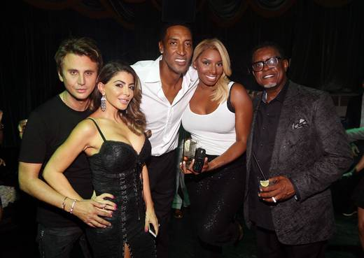 Jonathan Cheban, Larsa Pippen, Scottie Pippen, NeNe Leakes and Gregg Leakes