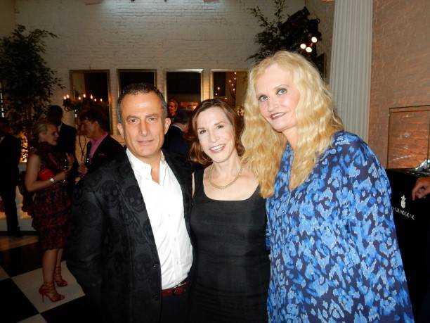 Jorge Maumer, Maria Quiros and Beth Townsend