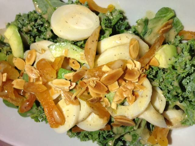 Kale and Heart of Palm Salad