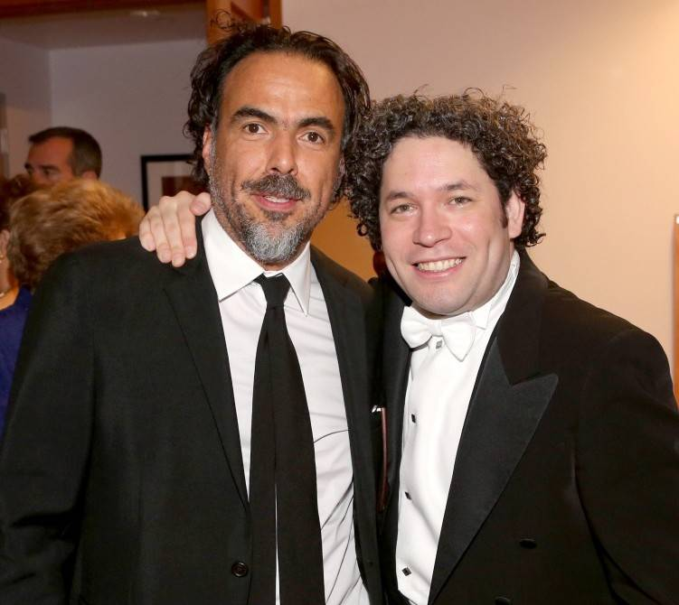 Alejandro Inarritu and Gustavo Dudamel