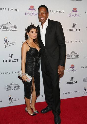 Larsa Pippen and Scottie Pippen