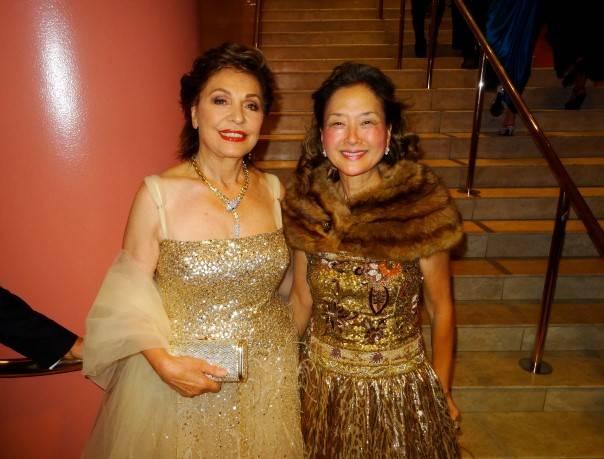 Maria Manetti Shrem and Olivia Hsu Decker