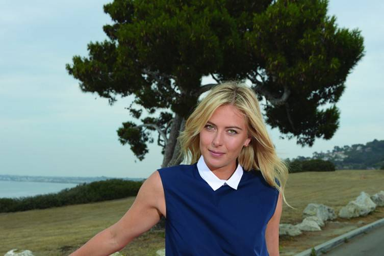 Maria Sharapova is a new brand ambassador for Porsche and poses with a 2013 model 911 Carrera 4S in Palos Verdes and in Manhattan Beach. PHOTO by © AXEL KOESTER/PORSCHE,  ALL RIGHTS RESERVED, 2013.