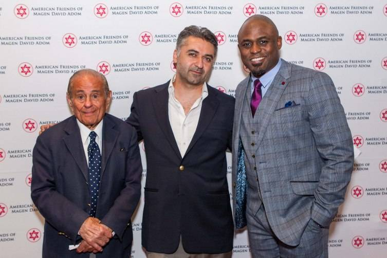 Maurice Kanbar, Hooman Khalili & Wayne Brady