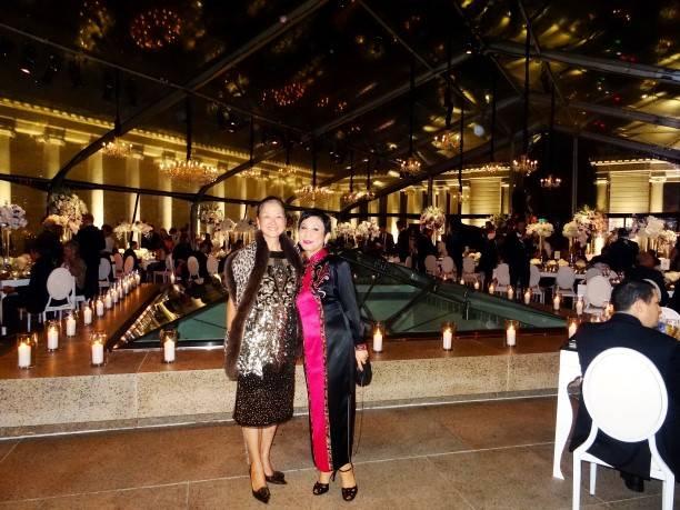 Olivia Hsu Decker with Linda Hong de Clef, GM of Boutique Breguet, New York