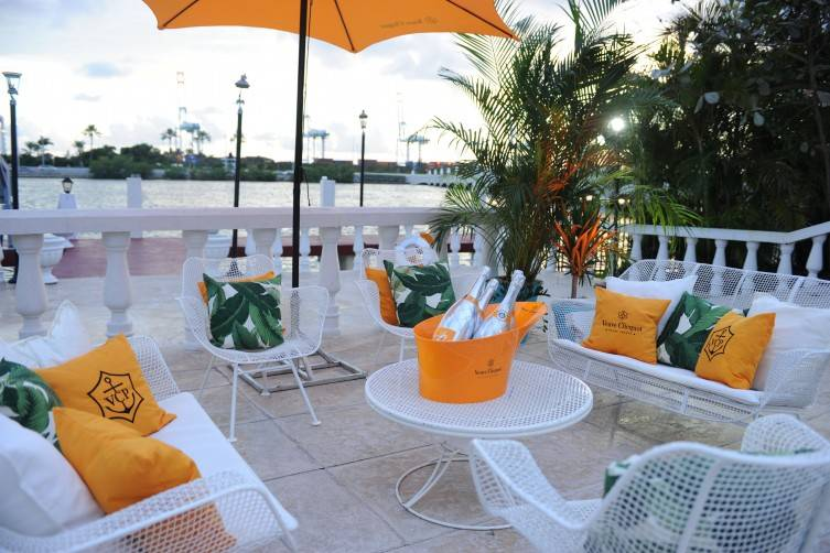 Veuve Clicquot Star Island Event