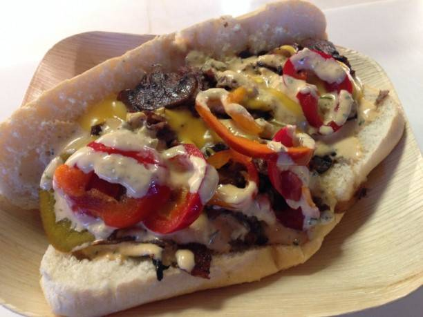 Philly cheese steak from Adam Mesnick of Deli Board